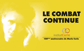 campagne 150 ans Marie Curie